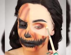 MELTED 'Pumpkin' Makeup (Halloween 2019)