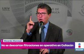 No se descartan filtraciones sobre operativo en Culiacán