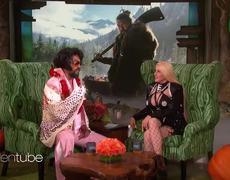 The Ellen Show: Jason Momoa on Blindly Fighting a Bear
