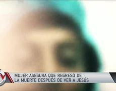 Mujer se suicida, se encuentra con Dios y asegura que la devolvieron a la vida