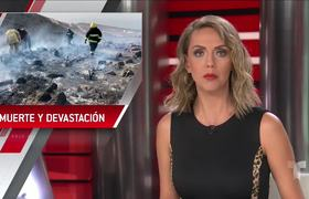 Incendios forestales en México deja varios muertos y gran devastación