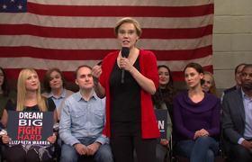Elizabeth Warren Town Hall Cold Open #SNL