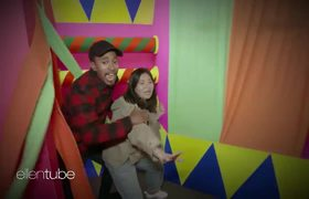 The Ellen Show: Kalen and His Producer Go Through a Haunted House