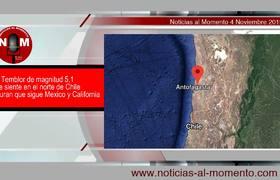 Tiembla en Chile y aseguran que sigue Mexico y California