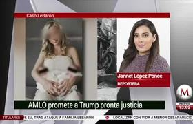 AMLO promete a Trump justicia 'con toda prontitud' por ataque a familia LeBarón