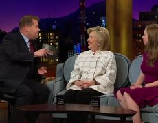 The Late Late Show: Hillary Clinton Is Worried About Rudy Giuliani's Brain
