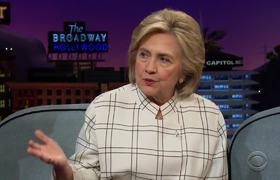 The Late Late Show: el consejo de Hillary Clinton para cualquier demócrata que debata a Trump
