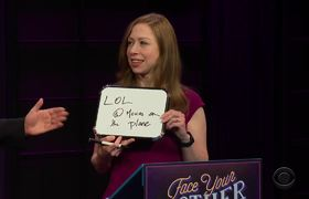 The Late Late Show: Face Your Mother: The Clintons Edition