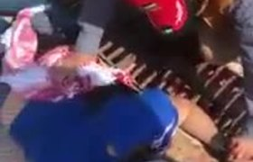 """""""¡Hay una navaja! ¡Ayuda!"""", difunden video del ataque a mexicanos en Jordania"""