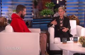 The Ellen Show: Shia LaBeouf's Mandated Therapy Led to Autobiographical 'Honey Boy'