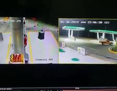 #VIDEO: Atropellan a despachador de gasolina para no pagar en Toluca