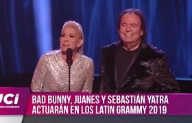 Bad Bunny, Juanes y Sebastián Yatra estarán en los Latin Grammy 2019