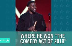 Kevin Hart Gives Moving Speech At #PeopleChoiceAwards2019 In First Appearance Since Car Crash