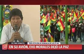 Así anunció #EvoMorales su renuncia a la presidencia de Bolivia