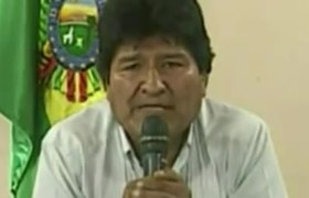 Evo Morales resigned from the presidency of Bolivia, cornered and without support