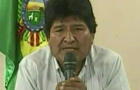 Renunció Evo Morales a la presidencia de Bolivia, acorralado y sin apoyos