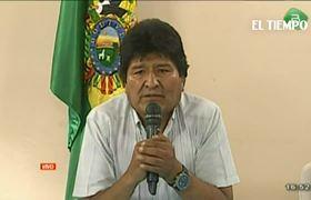 Cronología de la renuncia de Evo Morales