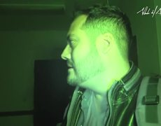 Alberto del Arco: Haunted hospital, my camera and me. Completely alone!