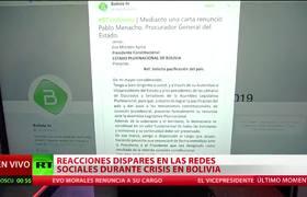 Comunidad internacional reacciona tras la dimisión de Evo Morales