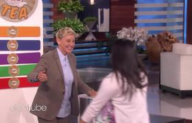 The Ellen Show: A Pole Dancer and Possible Swinger Play 'Spill the Tea'
