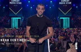 Noah Centineo's Message About Helping Others at E! PCAs | E! People's Choice Awards 2019