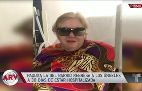 Paquita la del Barrio habla entre lágrimas sobre su trombosis pulmonar |