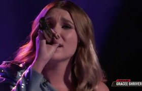 The Voice Live Top 20 Eliminations: Gracee Shriver Wildcard Instant Save Performance: