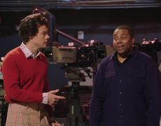 #SNL Host Harry Styles and Kenan Enjoy the Magic of Fall