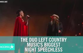 Pink & Chris Stapleton Bring CMA Awards Crowd To Its Feet With Chilling Duet