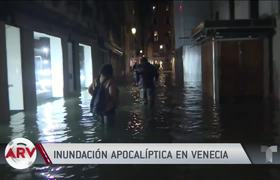 Venice suffers the worst flood in more than 50 years