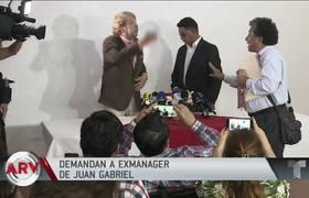 Demandan a exmánager de Juan Gabriel por daño moral contra el cantante