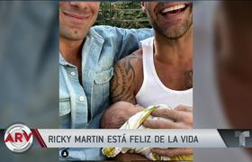 Ricky Martin revela su felicidad con el nacimiento de todos su hijos