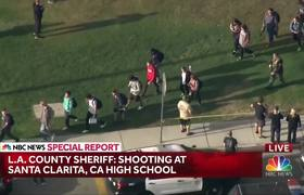 Police Searching For Suspect In #SantaClarita, California, High School Shooting