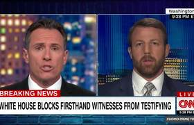 #CNN: Cuomo fact checks GOP lawmaker's impeachment claims in real time