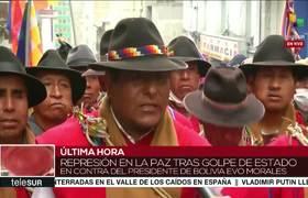 #Bolivia: Ponchos Rojos llaman a enfrentar el golpe de Estado