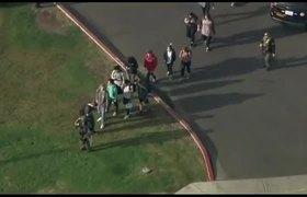 Students describe confusion, terror during #California school shooting
