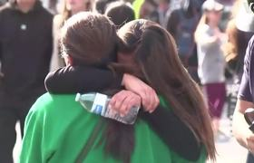 #NEWS: Students Reunited With Parents After California High School Shooting