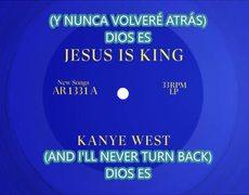 KANYE WEST - 8. GOD IS. SUB SPANISH. JESUS IS KING. 2019