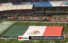 Ana Bárbara se equivoca en el Himno Nacional #NFL