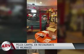 #VIDEO: fast food order ended with fists and kicks in a restaurant