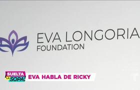 Eva Longoria tiene algo que decir de los hijos de Ricky Martin