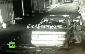 En segundos roban auto en la Ciudad de México
