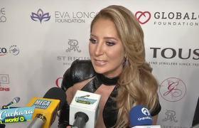 Geraldine Bazán reacciona a fotos de sus hijas conviviendo con Irina Baeva