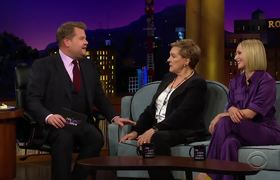 The Late Late Show: Kristen Bell Had Dressed as Elsa, Not Anna, Before Crosswalk