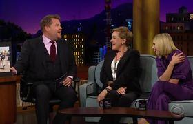 The Late Late Show: Los altos y bajos de Julie Andrews al grabar 'Sound of Music'