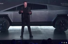Watch Tesla Unveil Its Pickup Truck In Under 6 Minutes