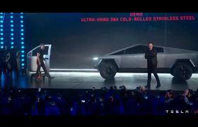 Elon Musk presents the new Tesla Cybertruck Launch