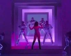 Selena Gomez performing at American Music Awards 2019
