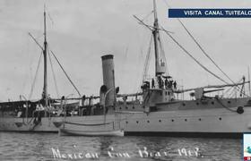 Encuentran el cañonero 'Tampico' barco que naufragó en la Revolución Mexicana