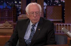 The Tonight Show: Jimmy Shoots Free-Throws with Senator Bernie Sanders
